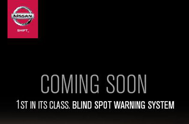 nissan blis 01 ETCM teases car with first in class Blind Spot Warning
